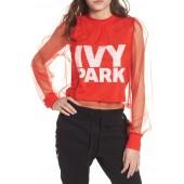IVY PARK(R) Festival Tulle Crop Top