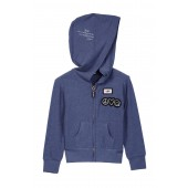 Comfy Patch Detail Hoodie (Little Girls)