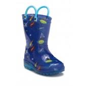 Cosmic Light-Up Rain Boot (Toddler & Little Kid)