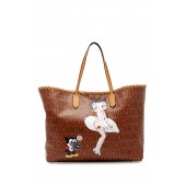 Betty Boop Leather Tote