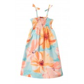 Braided Strap Dress (Toddler Girls, Little Girls & Big Girls)