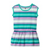 Vibrant Stripe Dress (Toddler, Little Girls, & Big Girls)