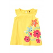 Vib Bouquet Graphic Dress (Baby Girls)