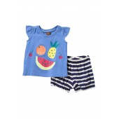 Fruit Graphic Outfit (Baby Girls)