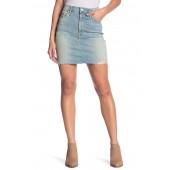 The Sacred Frayed High Waist Miniskirt