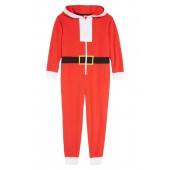 Santa Hooded One-Piece Pajamas (Little Boys & Big Boys)