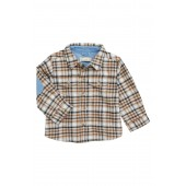Oliver Plaid Flannel Shirt (Baby Boys)