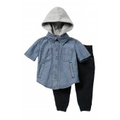 2-Piece Woven Pant Set (Baby Boys)