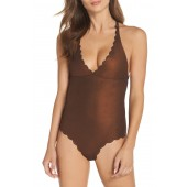 Wave Reversible Seamless One-Piece Swimsuit