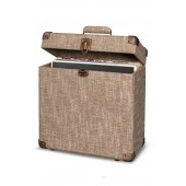 Brown Record Carrier Case