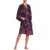 Floral Wrap Robe