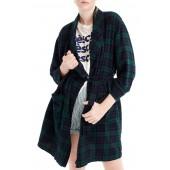 Blackwatch Flannel Short Robe