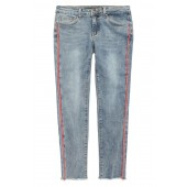 The Markie Tape Skinny Ankle Jeans (Big Girls)