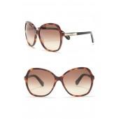 jolyn 58mm oversized sunglasses