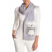 who me owl merino wool muffler scarf