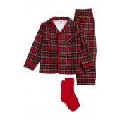 Two-Piece Pajamas & Socks Set (Baby Boys)