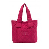 Small Diamond Quilted Tote Bag