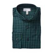 Plaid Trim Fit Shirt