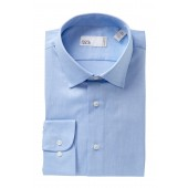Solid Traditional Fit Dress Shirt