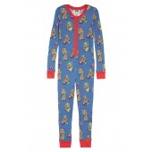 x Star Wars(TM) Christmas Chewbacca Fitted One-Piece Pajamas (Toddler, Little Kid & Big Kid)