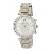Womens Pave Sawyer Bracelet Watch, 39mm