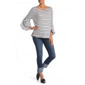 Cuffed Hem Signature Skinny Jeans (Maternity)
