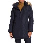 Whitney Faux Fur Lined Hood Jacket