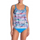 Perfect Alignment Double Up Tankini Top