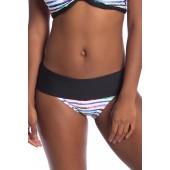 Perfect Alignment Retro Foldover Bikini Swim Bottoms