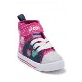 Peppa Pig Hi Top Denim Sneaker (Toddler)