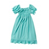 Solid Gathered Dress (Baby, Toddler, Little Girls, & Big Girls)