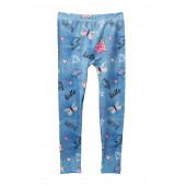 Doodles Printed Pajama Leggings (Big Girls)