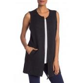 Wool Zip Up Vest
