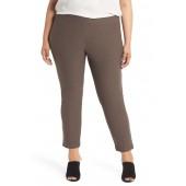 Slim Ankle Pants (Plus Size)