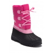 Cold Weather Faux Shearling Boot (Toddler & Little Kid)