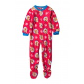 Rudolph Fleece Footie Sleeper (Toddler)