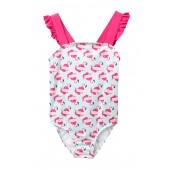 Bow Back Ruffle One-Piece Swimsuit (Toddler, Little Girls, & Big Girls)