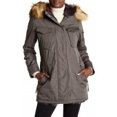 Lush Faux Fur Hooded Parka