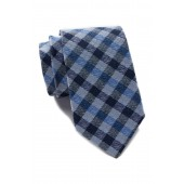 Irvin Silk Check Tie