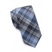 Marcus Plaid Silk Tie