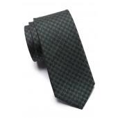 Maxwell Houndstooth Silk Tie