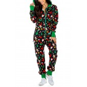 Cookie Cutter Hooded Jumpsuit