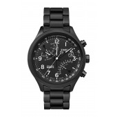 Mens IQ Fly-Back Bracelet Watch, 43mm