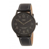 Mens Waterbury Classic Leather Strap Watch, 40mm