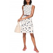 Martha Print Sheath Dress