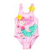 3D Mermaid One-Piece Swimsuit (Baby & Toddler Girls)