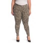 Ab Tech Animal Patterned Jeans (Plus Size)