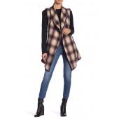 Wool Blend Sleeveless Vest