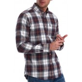 High Check Tailored Fit Shirt