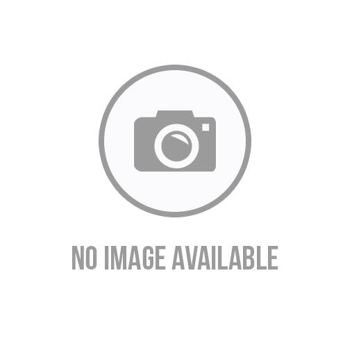 Cropped Fleece Pullover Hoodie - Black